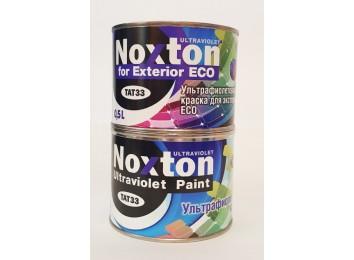 Флуоресцентная краска для экстерьера Noxton ECO Светло-фиолетовая с фиолетово-розовым свечением под ультрафиолетом