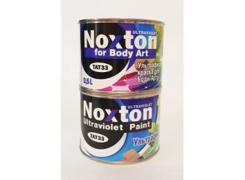 Флуоресцентная краска Noxton для боди-арта Темно-розовая с темно-розовым свечением под ультрафиолетом