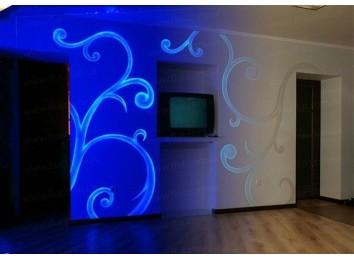 Флуоресцентная невидимая краска Noxton с бело-голубым свечением под ультрафиолетом