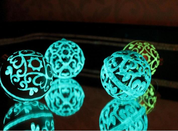 Сувениры, светящиеся в темноте, очень легко сделать в домашних условиях