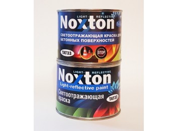 Светоотражающая краска для бетона Noxton Красная